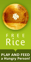 Free Rice Website logo and link