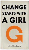 The Girl Effect Website logo and link